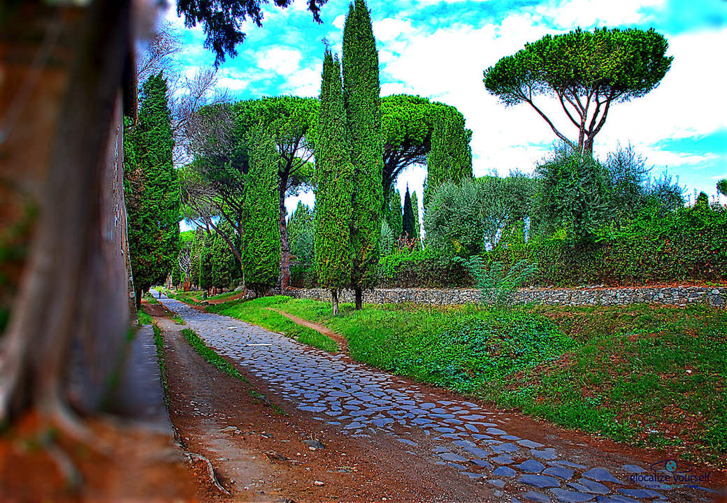 BIKING ON THE APPIAN WAY