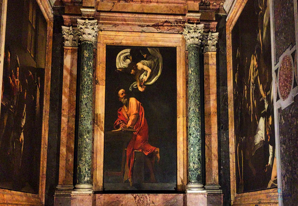 IN THE FOOTSTEPS OF CARAVAGGIO
